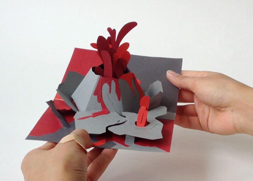 My Pop Up Book Home Paper Pinterest Books Popup And Kirigami