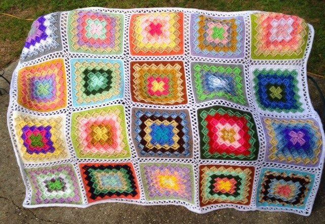 Bizzy Crochet | Tejidos Crochet Cuadros | Pinterest | Manta, Cuadro ...