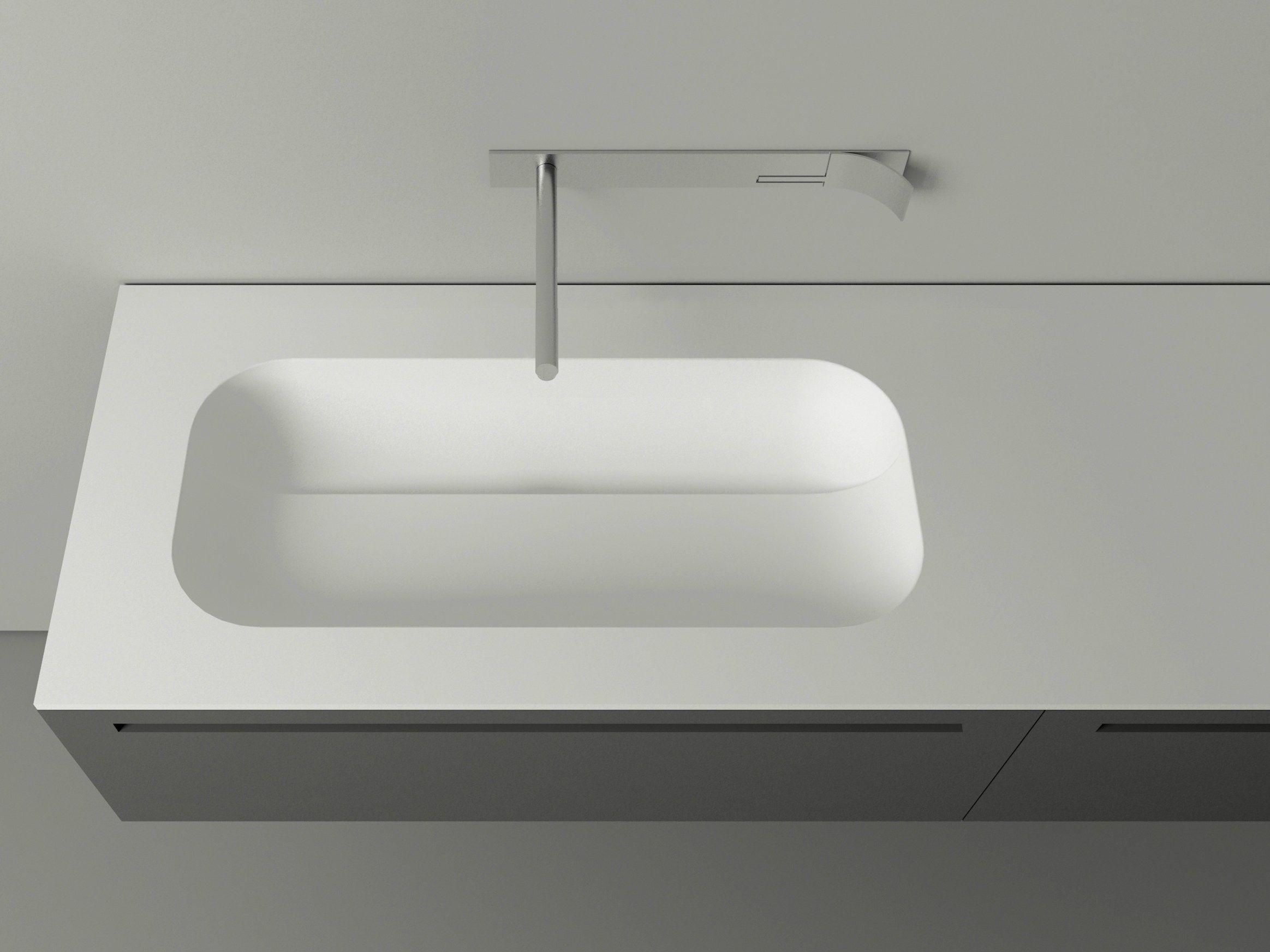 ovales waschbecken aus cristalplant mit waschtisch kupa boffi badezimmer pinterest. Black Bedroom Furniture Sets. Home Design Ideas