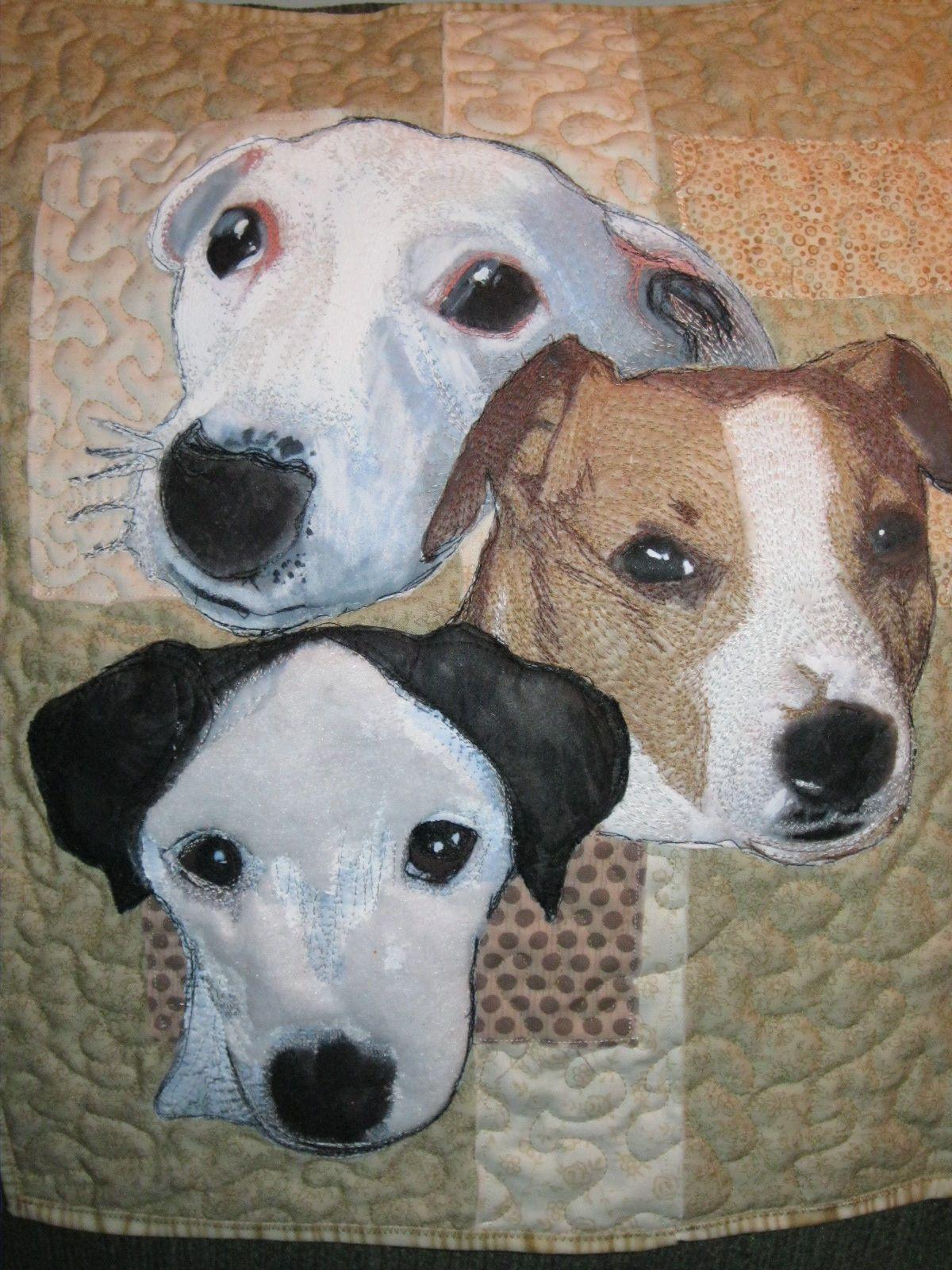 GARAGE SALE GAL: Wild Chicks, Dog Quilt & Finds | Quilts Animals ...