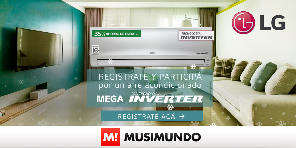 GANÁ UN AIRE ACONDICIONADO LG INVERTER