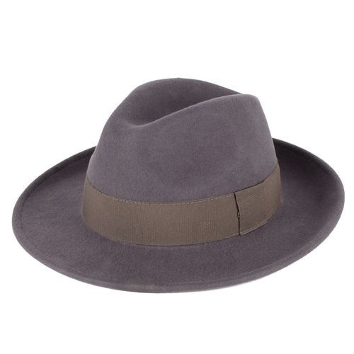 a6e984560e37f Elegant 100% Wool Fedora Hat Waterproof   Crushable Handmade in ...