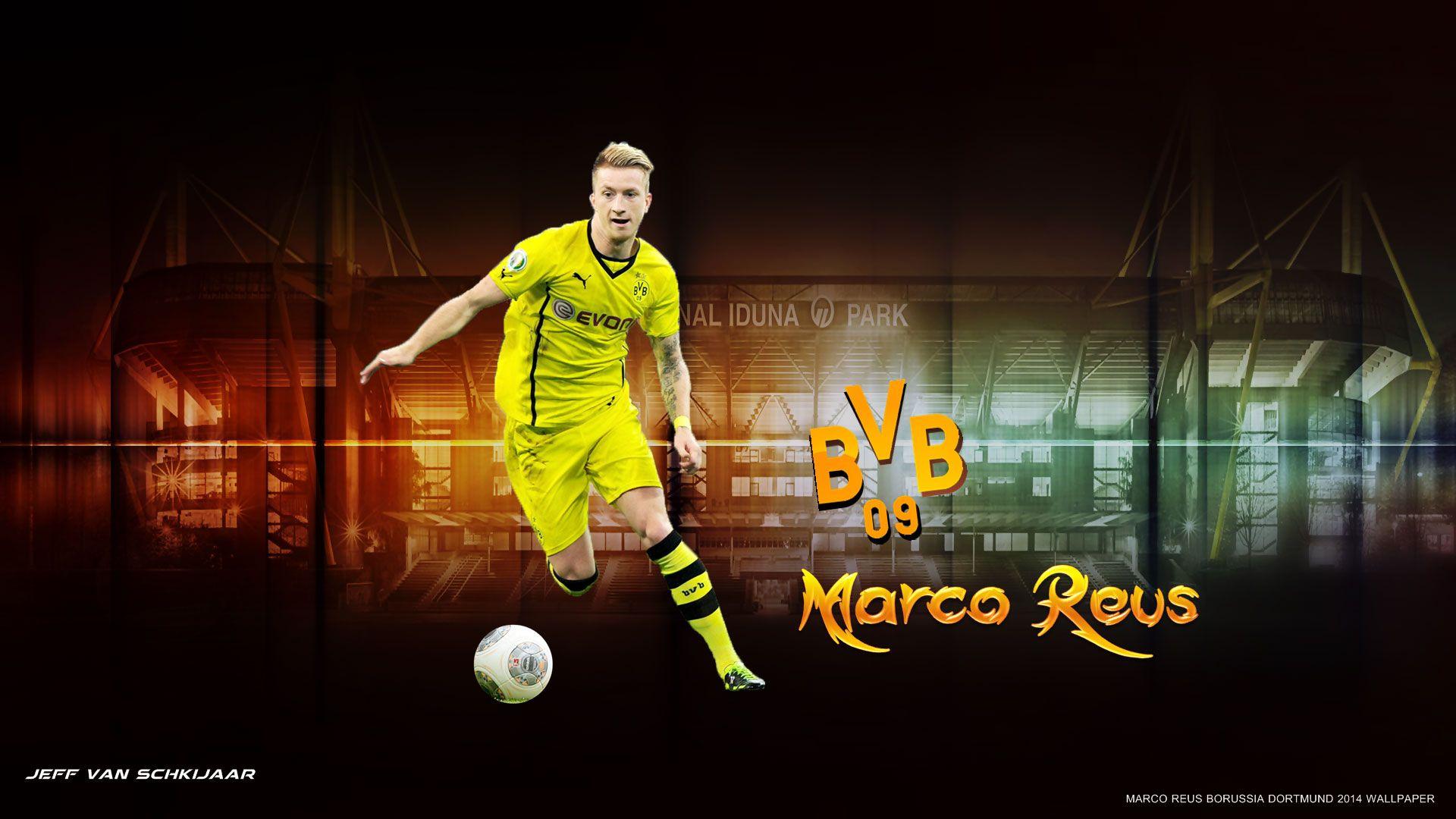 Marco Reus Borussia Dortmund Wallpaper HD 2014 #1