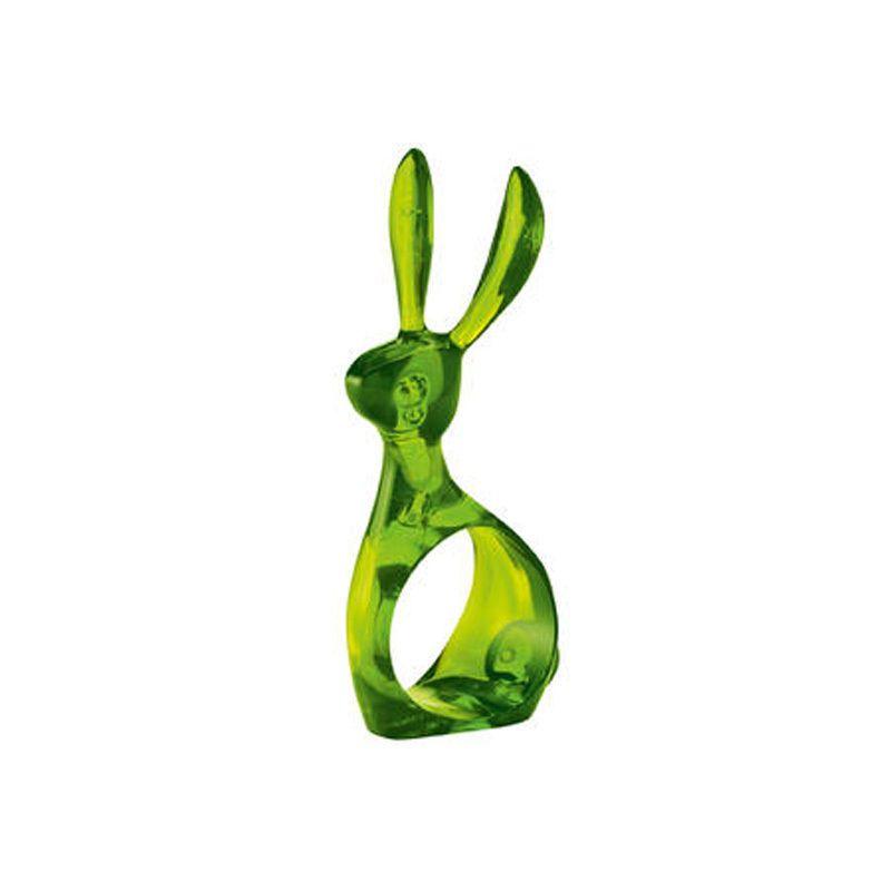 Serviettenring Hazel transparent grün