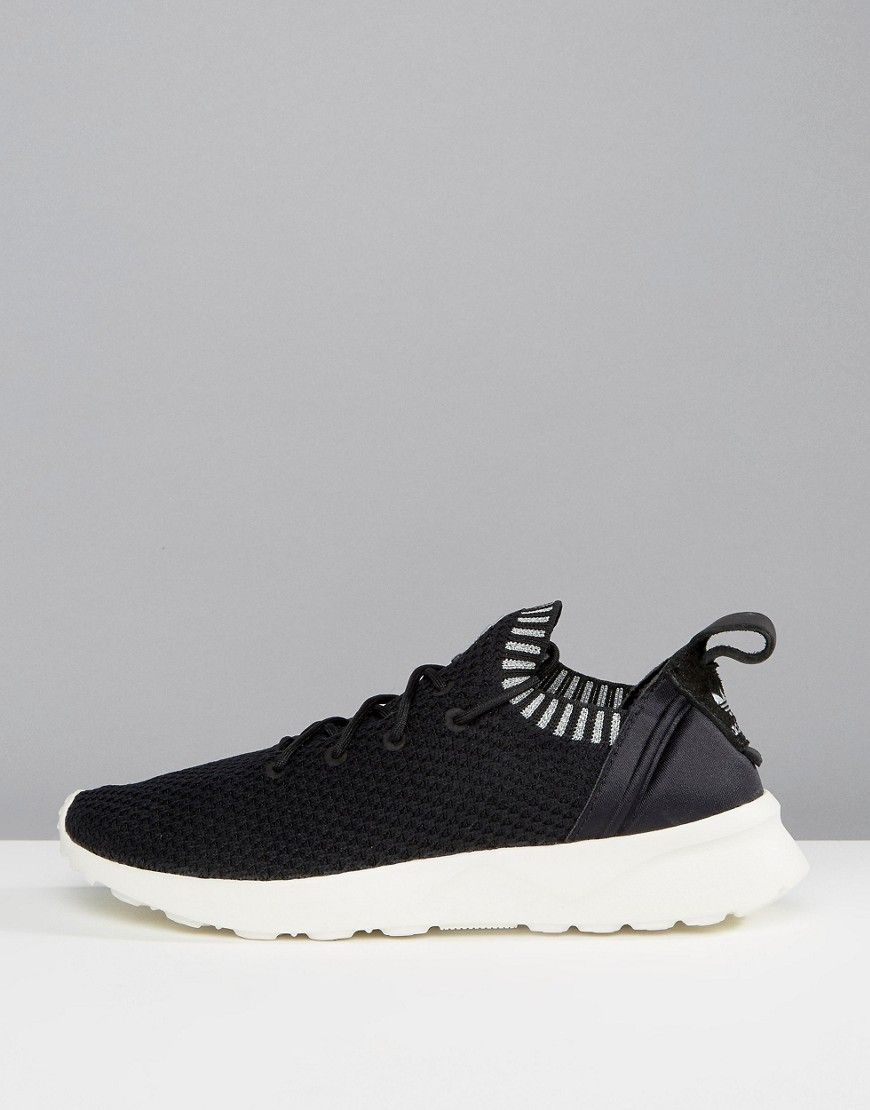 the best attitude 22f40 bd776 ADIDAS ZX Flux Adv Virtue Performance Sneakers - Black ...