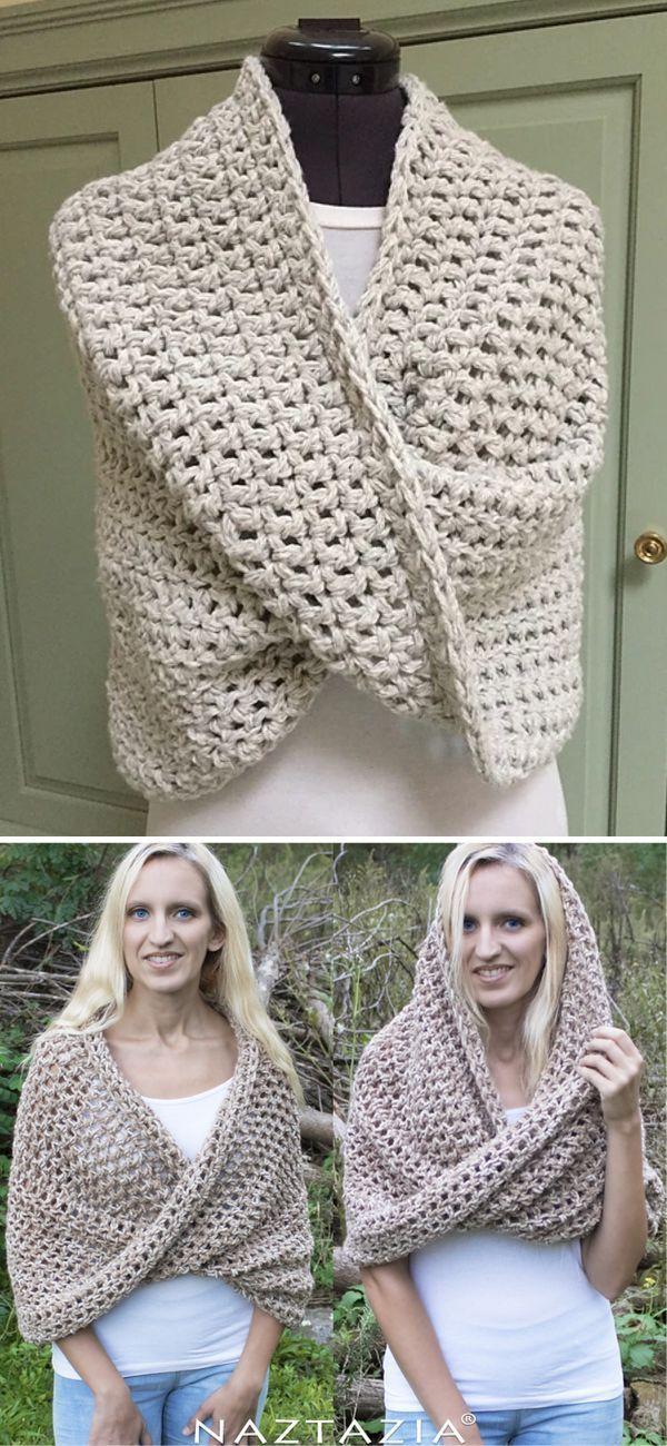Crochet Infinity Scarves for Beginners