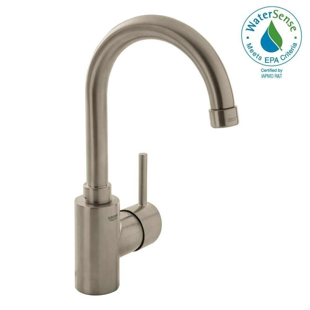 Photo of Grohe Concetto Single-Handle Bathroom Faucet Brushed Nickel
