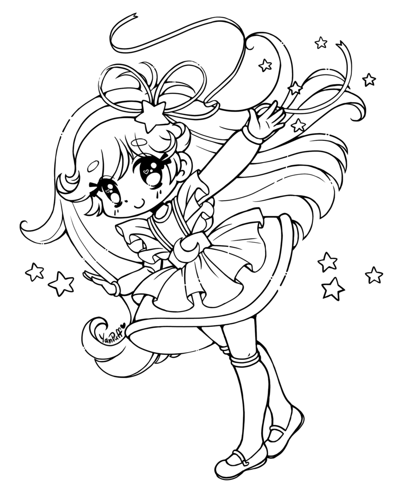 35++ Cute fox girl coloring pages information