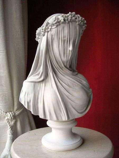 The Veiled Lady A Marble Bust Of The By