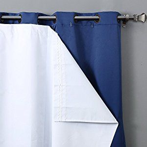 Rhf Thermal Insulated Blackout Curtain Liner For 84 Inch Curtains