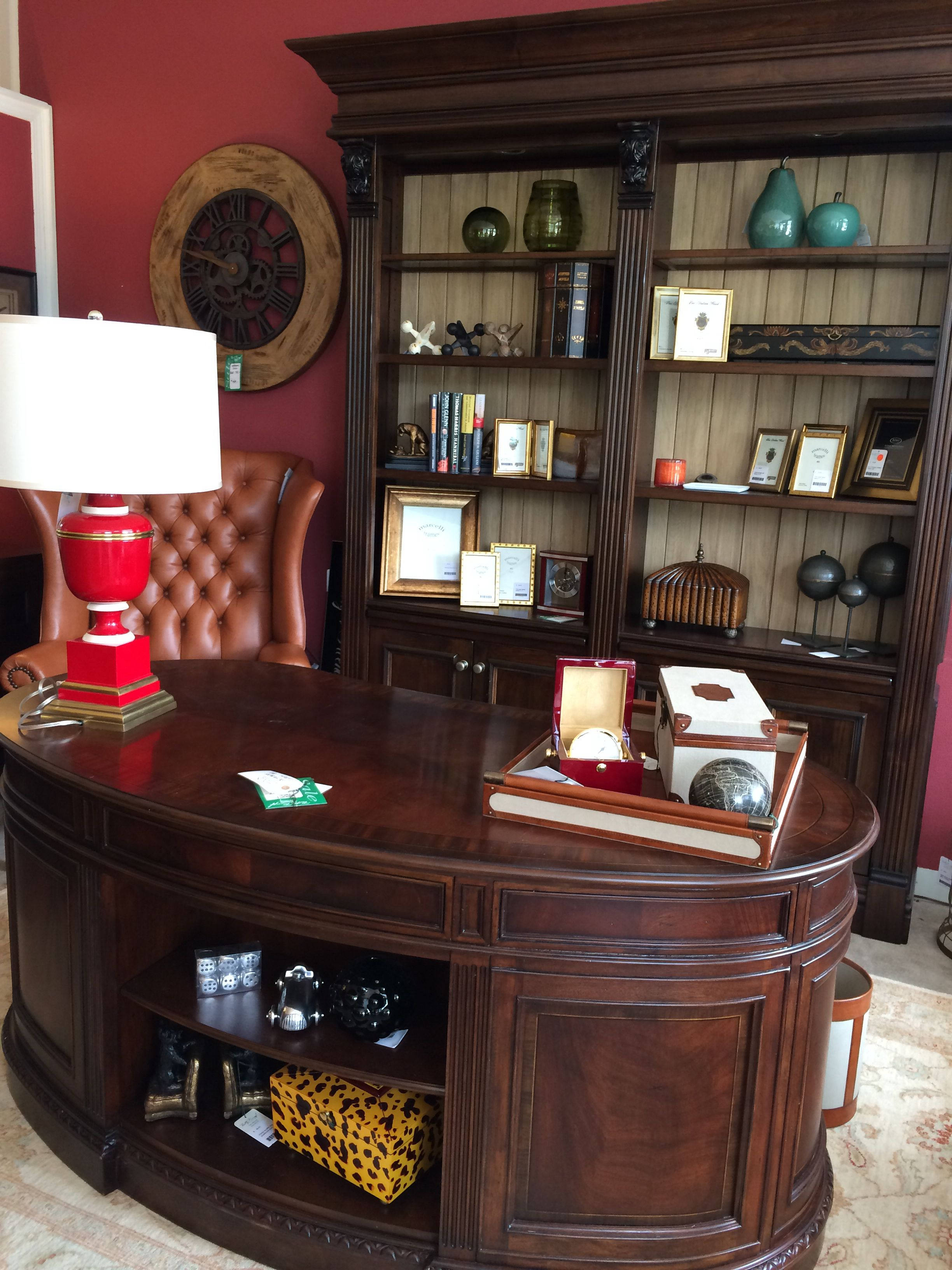 A Well Distinguished Office Find This Pin And More On Betty Rumpf Interiors