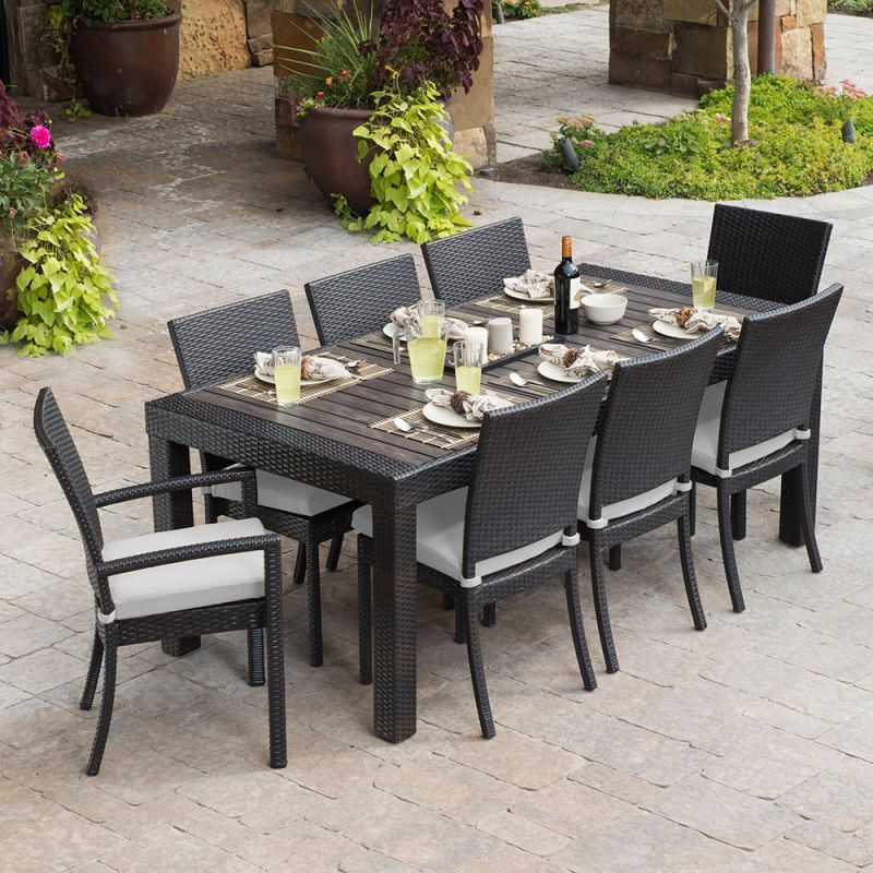 Rst Brands Deco 9pc Dining Set Deco 9pc Dining Set With Cushions