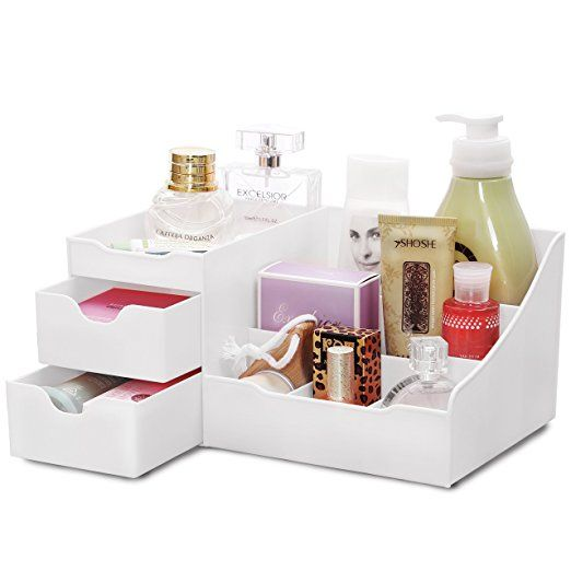 20 Amazon Com Uncluttered Designs Makeup Organizer With