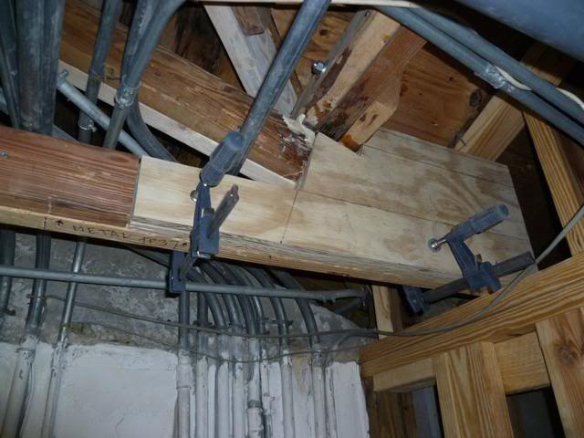 Rotted Roof Truss Heel Repair Method Building Construction Diy Chatroom Home Improvement Forum Roof Trusses Construction Diy Heel Repair