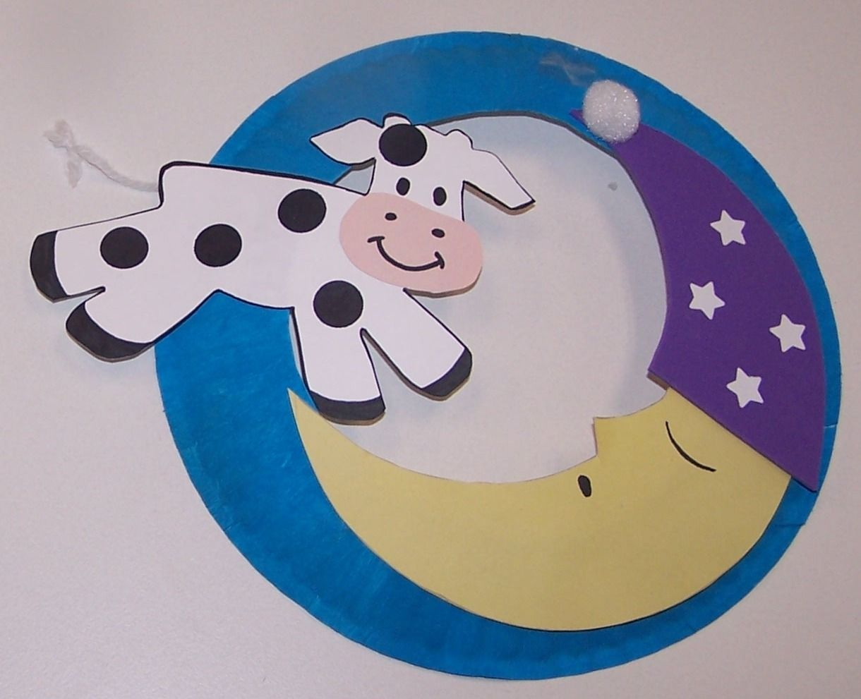 cow jumped over the moon craft - Google Search | Kids Crafts ...