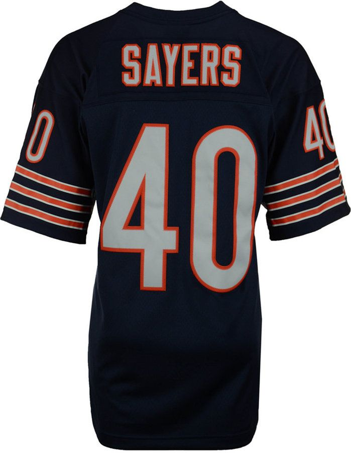 reputable site 15050 dc287 Mitchell & Ness Men's Gale Sayers Chicago Bears Replica ...