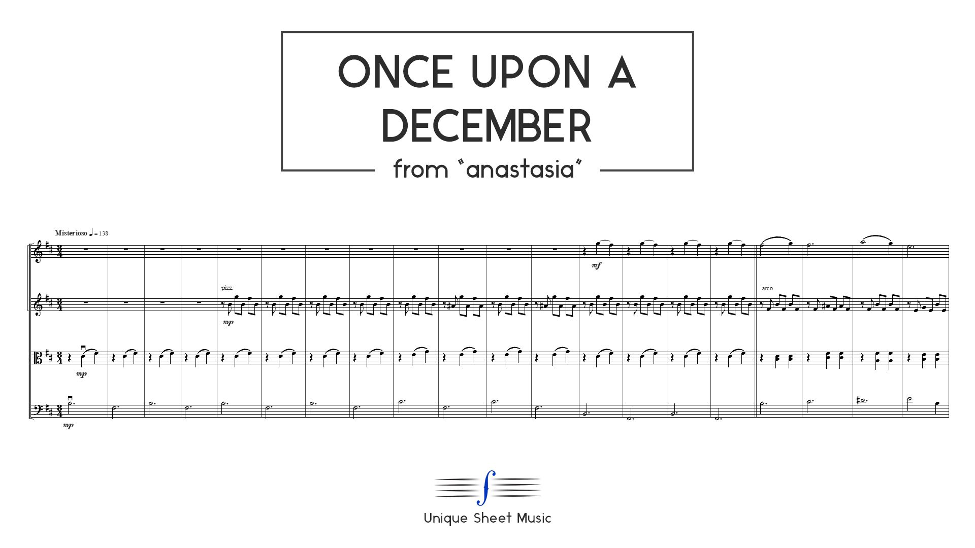 Once Upon a December - from