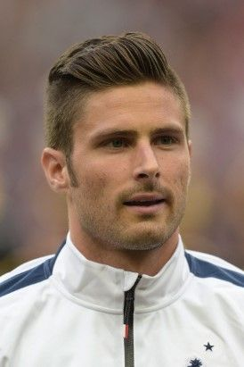 Olivier Giroud Cool Hairstyles For Men Sports Celebrities Mens Biker Style