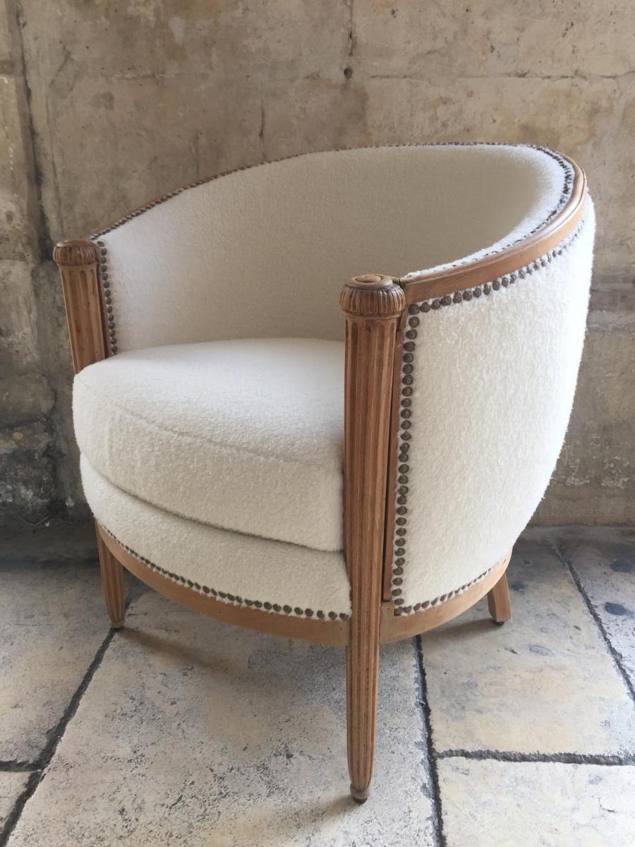 Ou Acheter Des Sangles De Tapissier fauteuil art deco, la chaise de marans, proantic | fauteuil