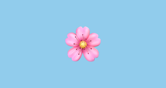 A Pretty Light Pink Flower In Bloom The Cherry Blossom Is Very Popular In Japan And Japanese Art Weather Forecast Emoji Flower Flower Clipart Cherry Blossom