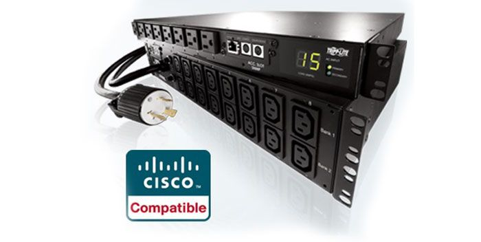 PDUs de Tripp Lite obtienen certificación EnergyWise de Cisco