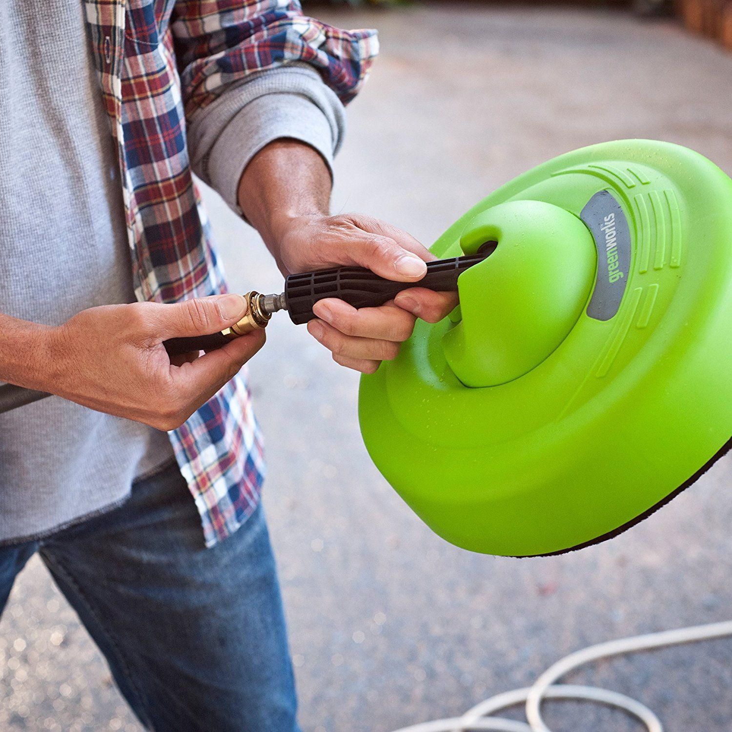 Todays Deals! Greenworks Surface Cleaner Universal