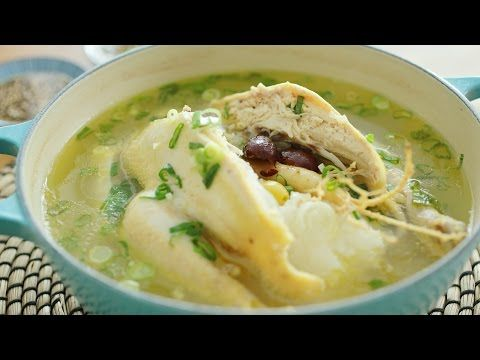 Korean ginseng chicken soup the meatmen your korean ginseng chicken soup the meatmen your local cooking forumfinder Choice Image