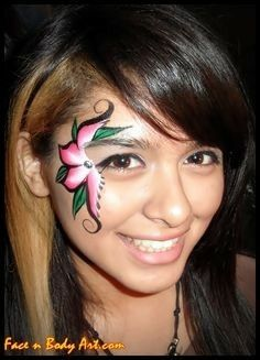 maquillage hawaien