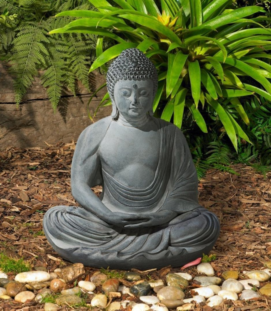 Awesome Buddha Statue for Garden Decorations is part of Buddha statue garden, Buddha garden, Garden statues for sale, Garden statues, Buddha statue, Buddha statues for sale - Statues are a simple and appealing element which can be added to any garden  They are ideal for enhancing the appearance of the garden and turn it into the perfect place to retreat to for some peace and relaxation  If you adore the Laughing Buddha energy and wish to purchase a statue for your house garden