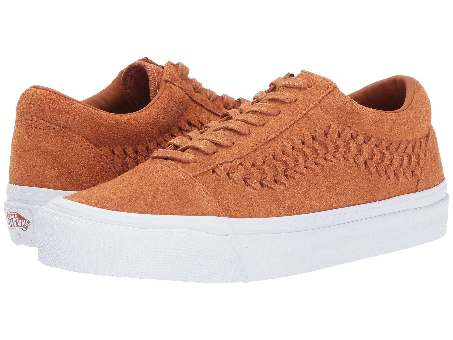 chaussure vans saumon