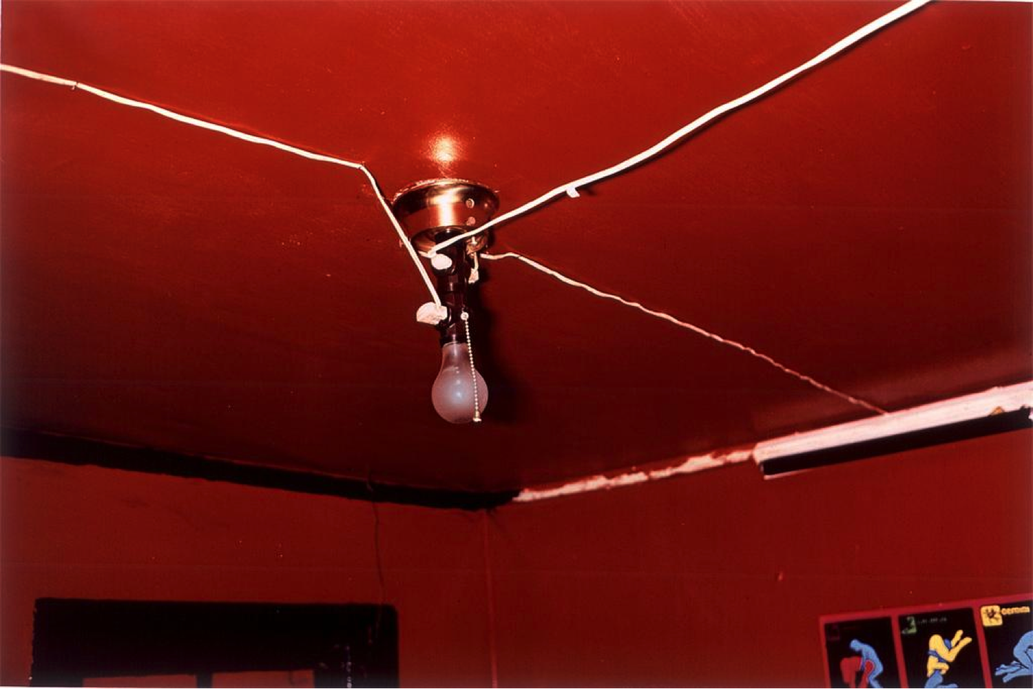 William Eggleston, The Red Celling, Greenwood, Mississippi, 1973