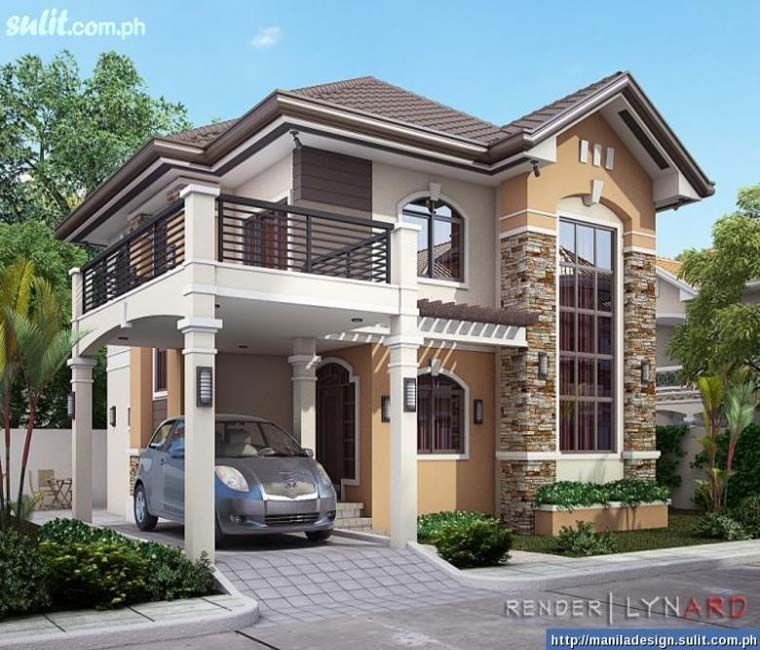 Simple House Exterior Design: Here Are The Details Of The Home Design Simple House