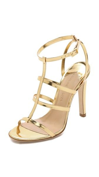 Charline De Luca Beat Metallic Sandals