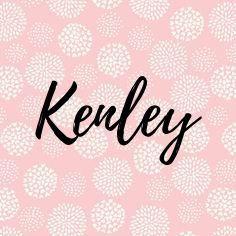 Cute Baby Names Girl Kenley
