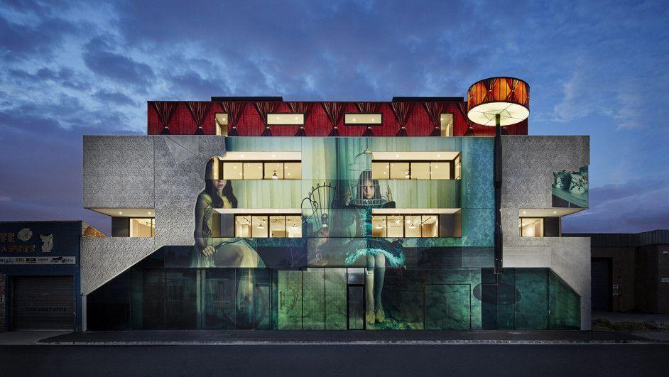 Increíble edificio. 2 Girls Building: fotografía arte y arquitectura  v2com