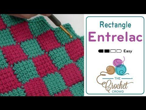 Entrelac Crochet Blanket Part 3 Youtube Haken En Breien