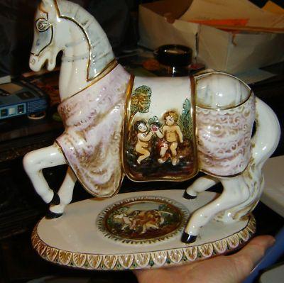 Gb r capodimonte italy horsegurine large nice antique vases gb r capodimonte italy horsegurine large nice thecheapjerseys Gallery