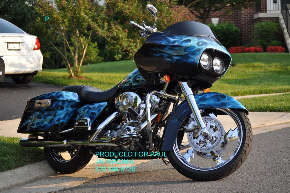 custom motorcycle paint jobs by bad ass paint Cool Cars