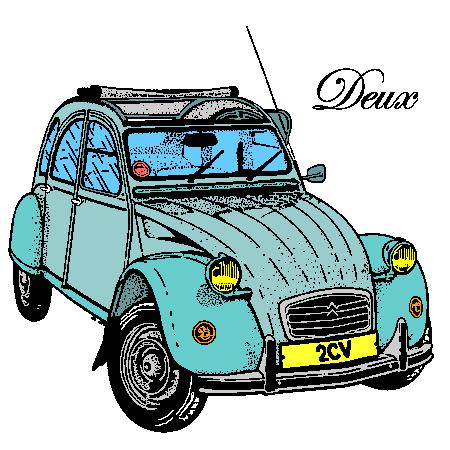 Citroen 2 cv yahoo images citroen 2cv art - Dessin de voiture ancienne ...