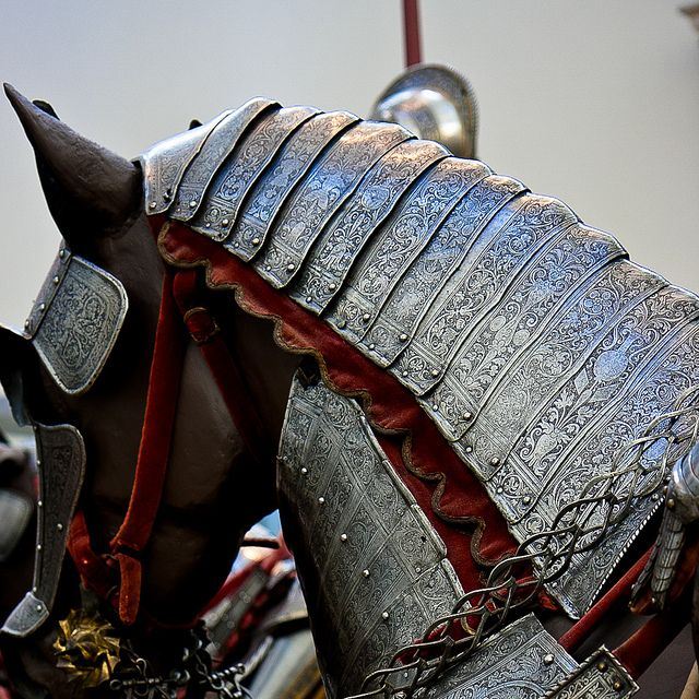 medieval horse armor | Horse armor, Medieval horse and ...