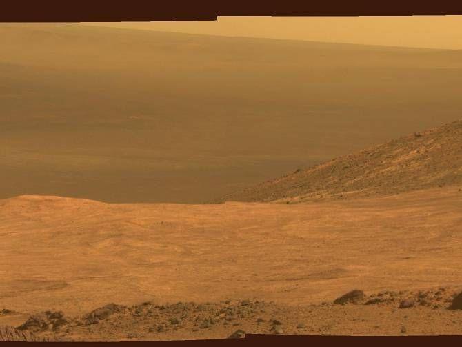 Uno de los paisajes captados por el Opportunity en Marte. (Foto: NASA/JPL-Caltech/Cornell Univ./Arizona State Univ.)
