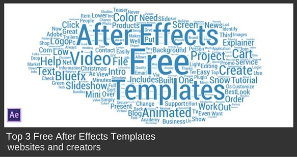 Top Free After Effects Templates Creators Template Mock Up And Free - After effects list template