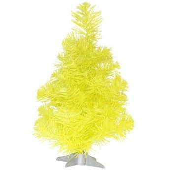 Medium Neon Christmas Tree Yellow Create The Look Inspiration 82 Christmas Tree Yellow Christmas Wishlist Favorite Holiday