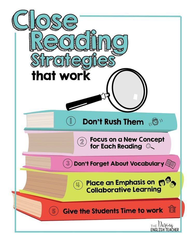 Close Reading Strategies That Work | Close reading