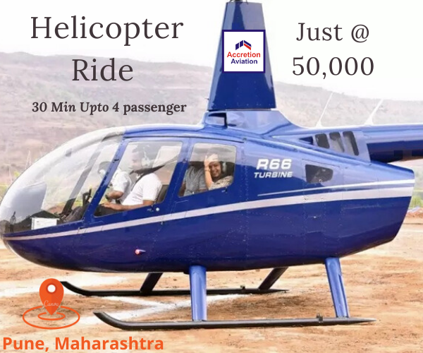 Helicopter Joyride in Pune in 2020 Helicopter ride