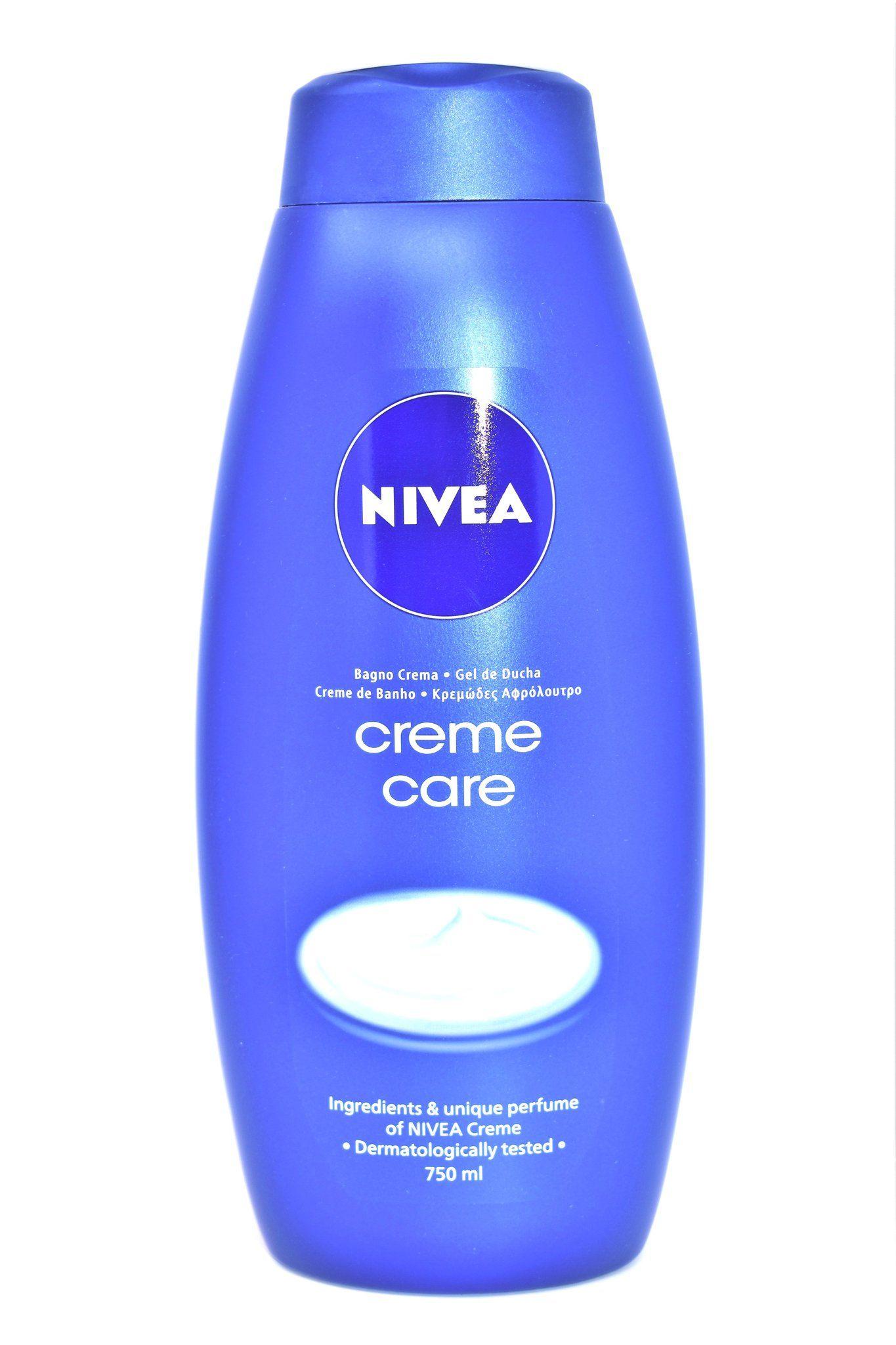 Nivea Creme Care Body Wash, 750ml Body wash, Perfume