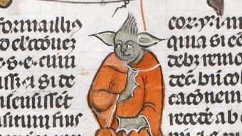 """Manuskript in der """"British Library"""" Meister Yoda, seid Ihr es wirklich?"""