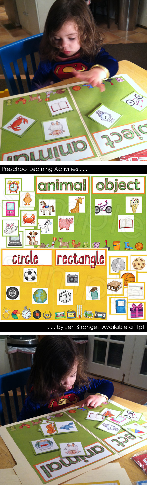 Preschool Games and Activities - colors, counting, shapes, and more ...