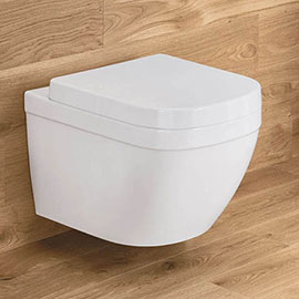 Grohe Euro Rimless Wall Hung Toilet With Soft Close Seat Wall Hung Toilet Grohe Wall Hanging