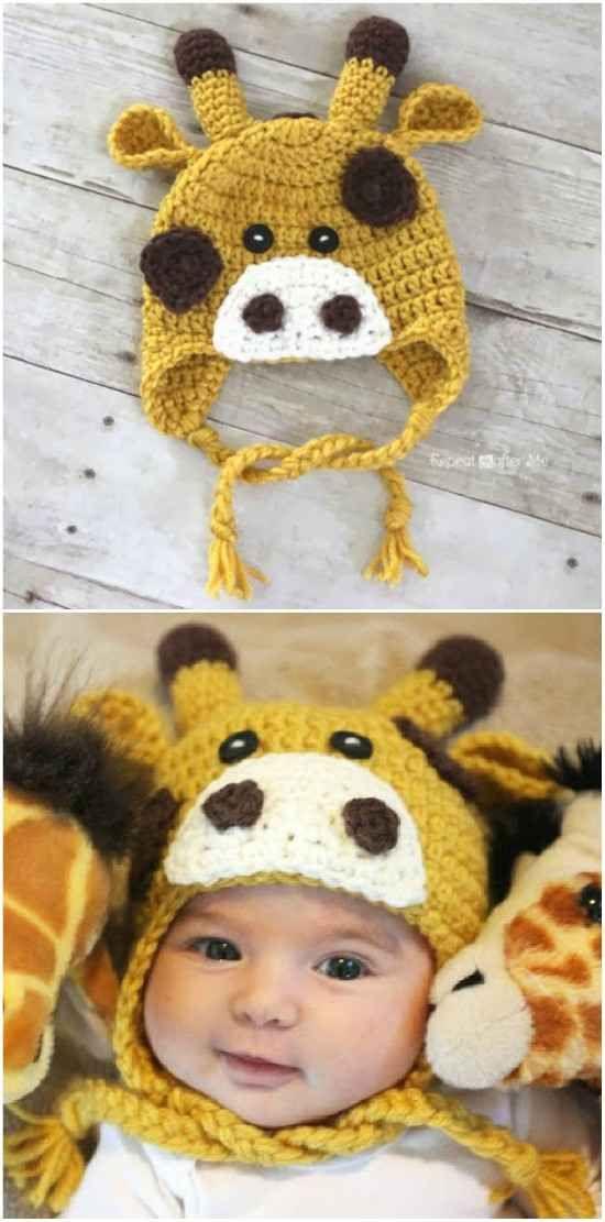 Cute Baby Animal Crochet Hats Free Patterns Video #premiebabyhats